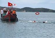 Đảo Cô Tô Diễn Tập Cứu Hộ Trên Biển