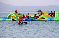 Đảo Cô Tô Khai Trương Tổ Hợp Khu Vui Chơi Dưới Nước