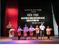 Hội thi Họa mi vàng và kể chuyện Bác Hồ huyện Cô Tô năm 2015