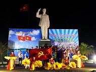 Rộn vang không khí chào đón Đại hội Đảng Bộ Cô Tô lần thứ V