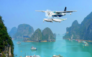 Sắp Có Đường Bay Hạ Long - Đảo Cô Tô Bằng Thủy Phi Cơ